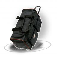 MEDIUM TROLLEY TRAVEL BAG BLACK